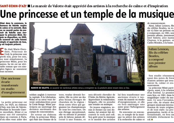article posthume du JdC